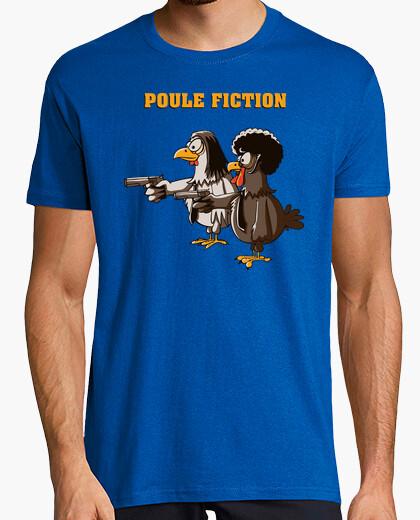 Tee-shirt Poule Fiction