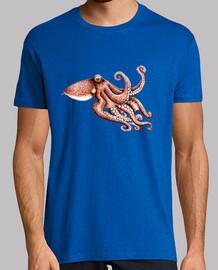 poulpe  t-shirt