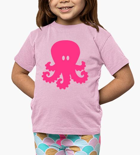 Vêtements enfant poulpe rose