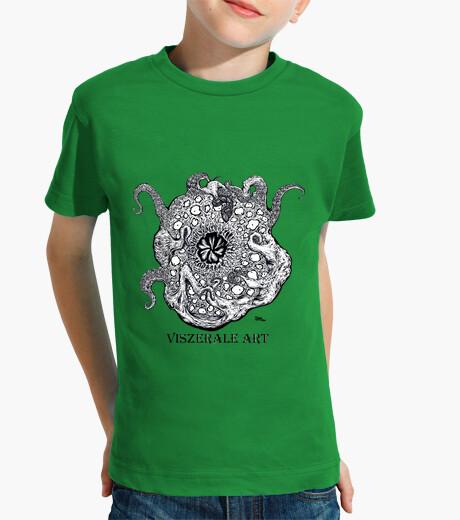 Vêtements enfant poulpes logo
