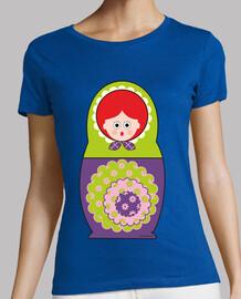 poupée r usa vert et violet