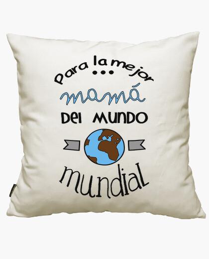 Housse de coussin pour la meilleure maman dans le monde entier