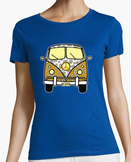 Tee-shirt pourquoi être hippie de surf