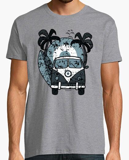Tee-shirt pourquoi surfer bleu