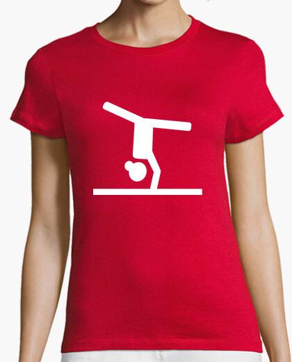 Tee-shirt poutre d39équilibre