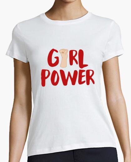 Tee-shirt pouvoir des filles
