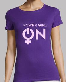 Power Girl On