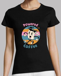 powered by kaffeehemd frauen