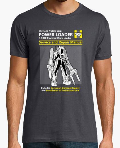 Tee-shirt Powerloader Service and Repair Manual