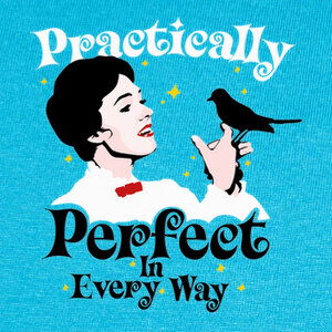 T-shirt Practically Perfect