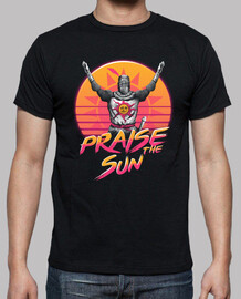 Praise the Sunset Wave Shirt Mens