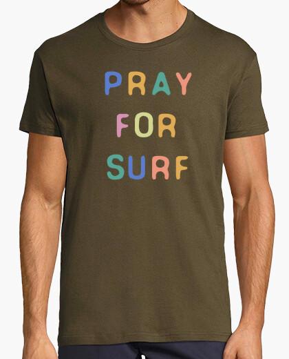 Camiseta Pray For Surf