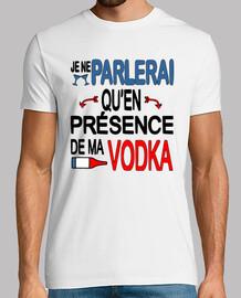 Présence de ma vodka