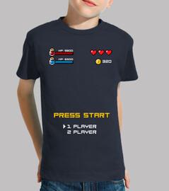 Press start player 1