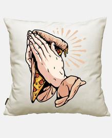 prier pour la pizza