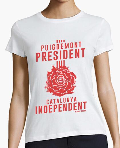 Camiseta Primavera Catalana Puigdemont   Markie