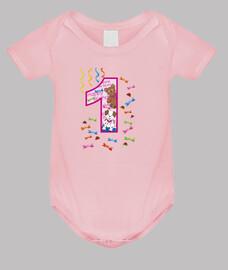 primer cumpleaños del bebé R