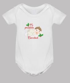 Primera Navidad Body bebé niño