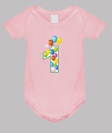 primo compleanno numero 1 palloncini