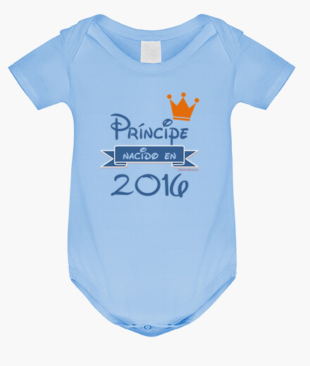 Prince born in 2016 baby's bodysuits
