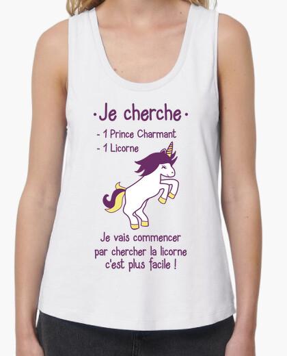 Tee-shirt Prince charmant ou licorne ?