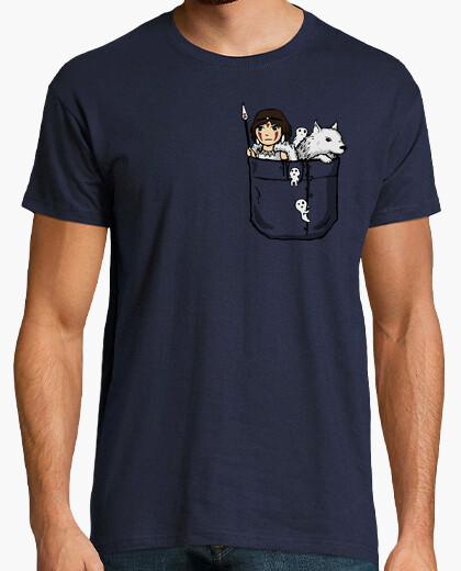 Camiseta princesa de bolsillo