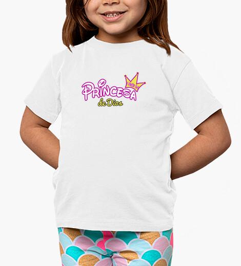 Ropa infantil Princesa de Dios