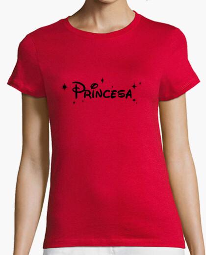 Camiseta Princesa Disney - Negro