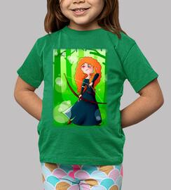 Princesa Merida camiseta manga corta chic@