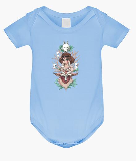 Ropa infantil Princesa Mononoke