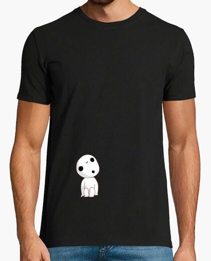 Camiseta Princesa mononoke - kodama - eco - japon