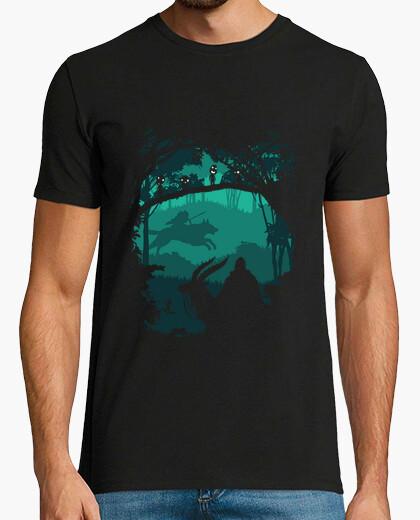 Camiseta princesa mononoke - princesa de foerst