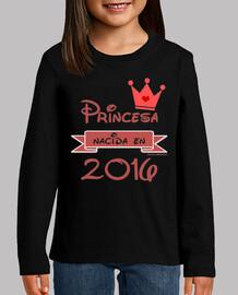 Princesa Nacida en 2016