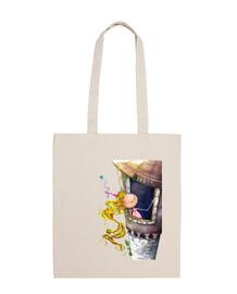 Princesa Rapunzel Tote bag L