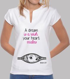princesa sueño es un deseo - collar de