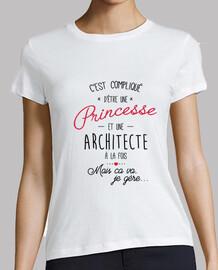 princesa y arquitecto