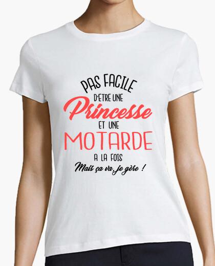 Camiseta princesa y ciclista