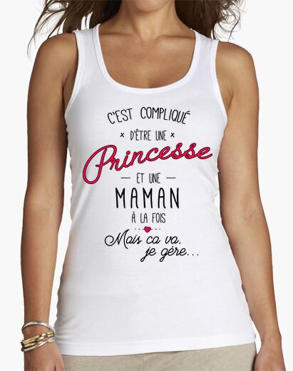 Camiseta princesa y madre