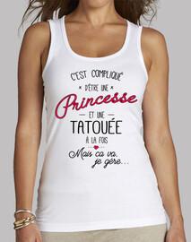 princesa y tatuado