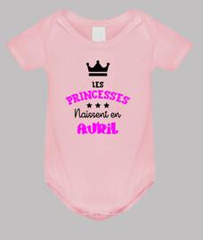Princesas nacen en abril / bebé