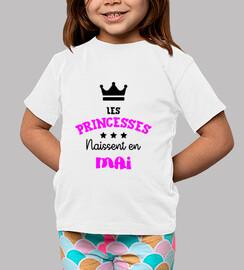princesas nacidas en mayo / bebé