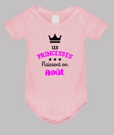 princesas nacidos en agosto / bebé