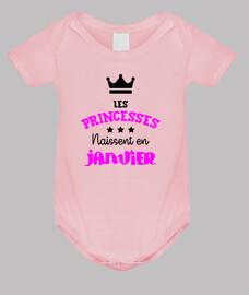 princesas nacidos en enero / bebé