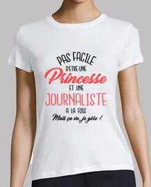 princess and journalist
