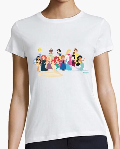 Camiseta Princess Dolls