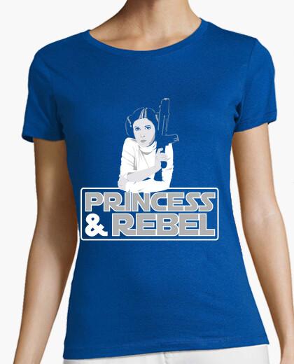 Tee-shirt princesse and rebelle