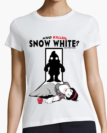 Tee-shirt princesse de la pâte - blanche neige