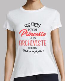 Princesse et archiviste