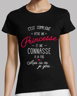 Princesse et connasse noir