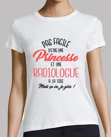 Princesse et radiologue